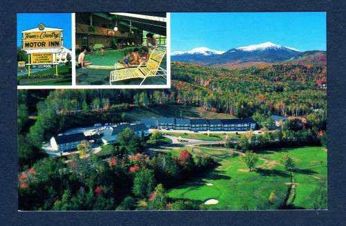 Nh town country motor inn motel shelburne new hampshire ebay for Town and country motor lodge gorham nh